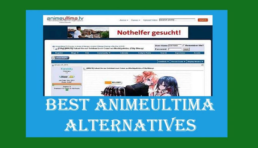 ANIMEULTIMA |THE BEST ANIMEULTIMAALTERNATIVES 2021